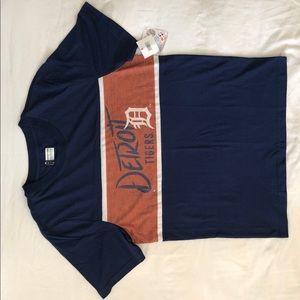 Blue Detroit Tigers Shirt Men's Medium NWT
